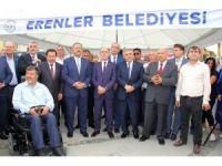 Bakan Özhaseki'den 15 Temmuz Şehitler Anıtı'nı açtı