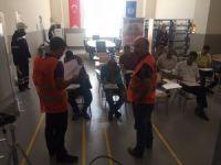 GSO-MEM  Mesleki yeterlilik belgesi için yapılan sınavlara ev sahipliği yapıyor