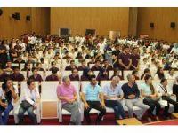 Stajyer öğrencilere oryantasyon eğitimi verildi