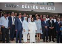Azerbaycan Milletvekili Ganire Paşayeva Hatay'da