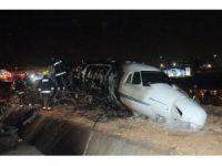 Jet kazasının yaşandığı noktada inceleme yapıldı