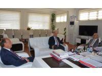 Vali Köşger'den Efeler Belediye Başkanı Özakcan'a ziyaret