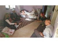 Müdür Bildirici'den yaşlılara ziyaret