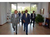 Ruanda Büyükelçisi'nden AOSB'ye ziyaret