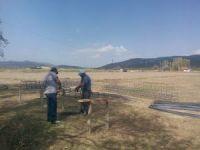 Simav'da termal suni çim futbol sahası yapılıyor