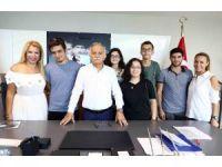Başkan Karabağ, üniversitelileri ağırladı