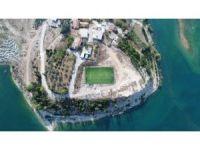 Manavgat Belediyesi'nden Emek ve Oymapınar'a yeni spor alanı