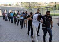 Samsun'da uyuşturucu ticaretinden 10 kişi adliyeye sevk edildi
