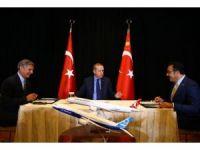 Cumhurbaşkanı Erdoğan, THY-Boeing imza törenine katıldı
