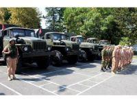 Rusya, Abhazya'ya yeni askeri araçlar teslim etti