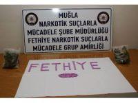 Fethiye'deki uyuşturucu operasyonunda 3 tutuklama
