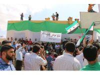 Suriye'de Esad karşıtı protesto gösterisi