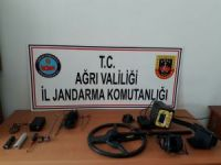 Ağrı'da kaçak kazı operasyonu