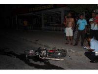 Manavgat'ta motosiklet kazası: 1 ölü
