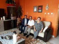 Başkan Pamuk, şehit ailelerini ve gazileri ziyaret etti