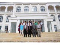 Rektör Kızılay, Doğanşehir Vahap Küçük MYO'nda incelemelerde bulundu