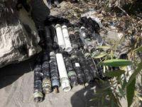 Hakkari'de, PKK terör örgütüne ait silah ve mühimmat ele geçirildi