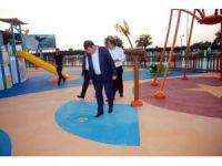 Osmangazi'den çocuklara su oyunları parkı