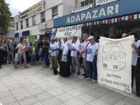 Ada Express'i için eylem yaptılar