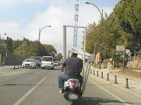 Akıllara durgunluk getiren motosiklet yolculuğu