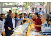 Başbakan Yardımcısı Işık, Diyarbakır'da esnafı ziyaret etti