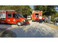 Kadirli'de ev yangını korkuttu
