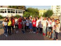 Kadirli'de 'Süslü kadınlar bisiklet turu' etkinliği