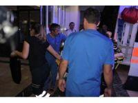 Kopan bacak için sağlık ekipleri zamanla yarıştı