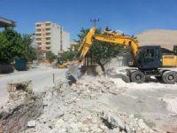 Mardin Dargeçit'te Büyükşehir'den çevre düzenlemesi