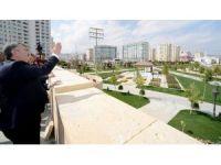 """Selçuklu ve Osmanlı mimarisinden izler taşıyan """"Ecdat Parkı"""" tamamlandı"""