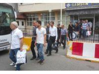 Samsun'da ByLock'tan 15 kişi adliyeye sevk edildi