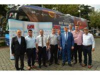 Çalışma hayatında milli seferberlik otobüsü Trabzon'da