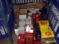 Antalya'da 113 şişe kaçak içki ele geçirildi