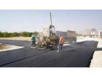 Siteler mahallesinde asfalt çalışması