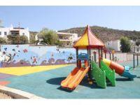Kumbahçe Cevri Kaptan Sokak'taki park yenilendi