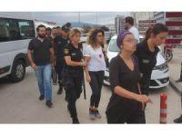Samsun'da izinsiz eyleme 5 gözaltı