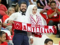 Süper Lig: Antalyaspor: 2 - Osmanlıspor: 0 (İlk yarı)