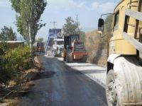 Fakırcalı yolu asfaltla buluştu