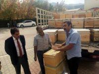 Tunceli'de 600 organik kovan dağıtıldı