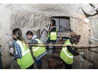 Nevşehir'de 800 yıllık kilisede duvar resmi sağlamlaştırma çalışmaları başladı