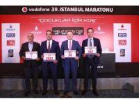 Vodafone 39'uncu İstanbul Maratonu'nda kıtalar çocuklar için birleşecek