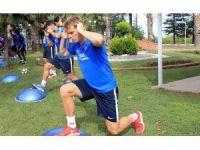 Trabzonspor denge ve kuvvet çalışması yaptı