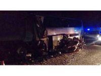Abhazya'da otobüs kazası: 6 ölü, 18 yaralı