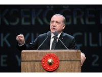 Cumhurbaşkanı Erdoğan'dan referandum tepkisi