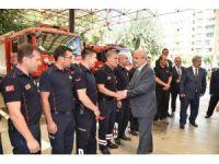 Vali Güvençer'den İtfaiye Teşkilatı'na kutlama