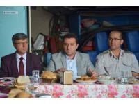 Bozüyük Belediye Başkanı Fatih Bakıcı itfaiye personelini ziyaret etti