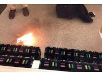 Londra'da metro istasyonunda panik
