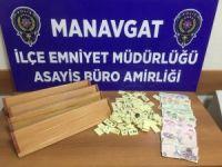 Manavgat'ta emniyetten kumar baskını