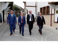 Kaymak ile Toraman'dan Amasya'da tarih turu