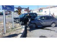 Tuzluca'da trafik kazası: 2 yaralı